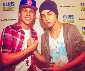 justin bieber, austin mahone, and boy image