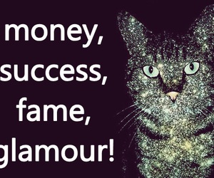bitch, fame, and glamour image