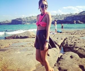 beach, bikini, and pretty image