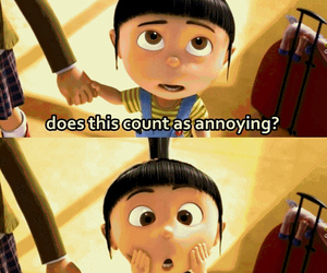 cute, despicable me, and agnes image