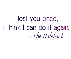 quote, the notebook, and text image