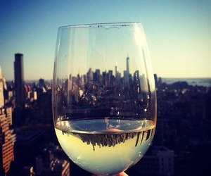 city, glass, and new york image