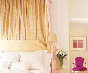 bedroom, decorating, and pink image