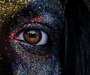 glitter and eyes image