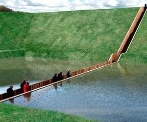 amazing, bridge, and green image