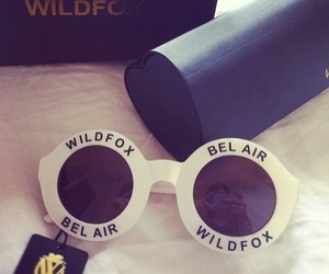 fashion, sunglasses, and wildfox image