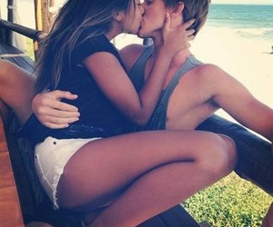 summer, cute, and couple image