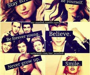 Avril Lavigne, be yourself, and justin bieber image