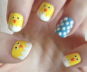 nails, Chicken, and design image