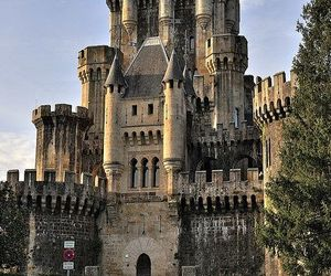 castle, spain, and basque country image