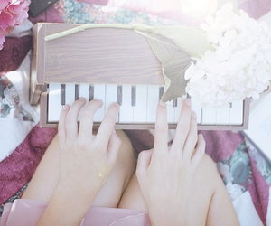 fairylifetale, piano, and whimsical image