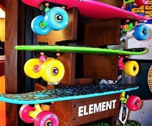 skate, skateboard, and element image