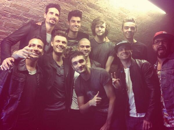 the wanted, backstreet boys, and max george image