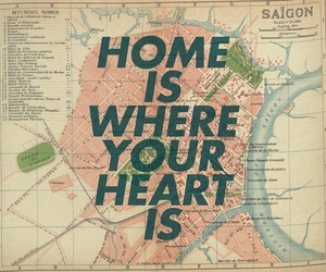 heart, home, and quote image