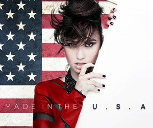 made in the usa, beautiful, and demi lovato image