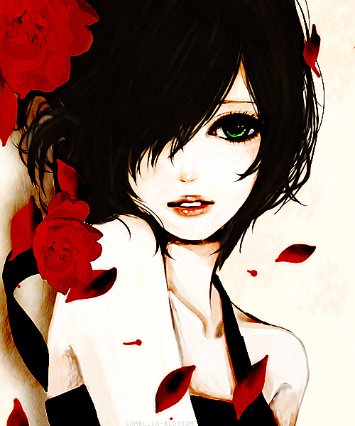 Anime Girl Beautiful On We Heart It