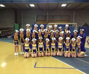 cheerleading <3, west high school, and junior varsity image