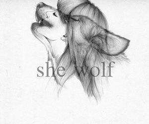 wolf and she wolf image