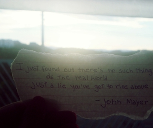 john mayer, quote, and no such thing image