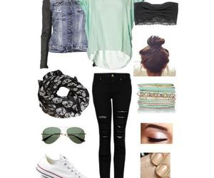beautiful, outfit, and converse image