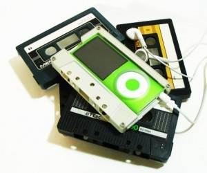 cassette, mp3, and ipod image
