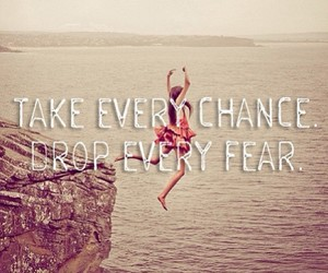 fear, chance, and life image