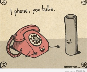 youtube, iphone, and funny image