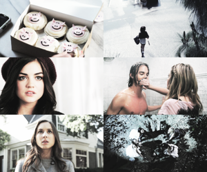 white, lucy hale, and tyler blackburn image