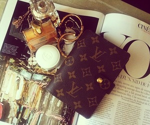 perfume, Louis Vuitton, and LV image