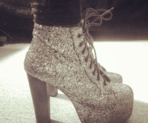 fashion, high heels, and jeffrey campbell image