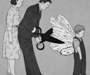 parents, wings, and Dream image
