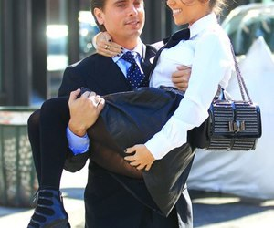 kourtney kardashian, scott disick, and couple image