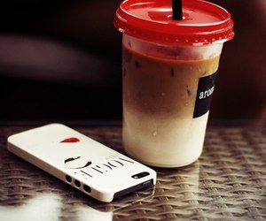 case, coffee, and iphone image