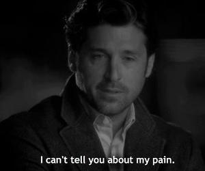 quote, pain, and text image