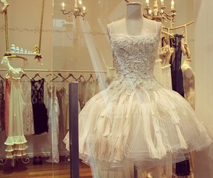 dress, glamour, and glitter image