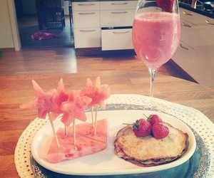 beautiful, drink, and eat image