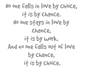 love, quote, and chance image