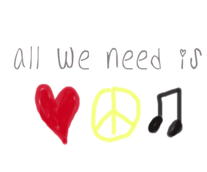 fact, all you need, and music image