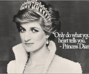 princess, diana, and heart image