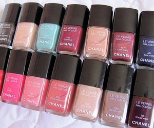 chanel, nail polish, and nails image