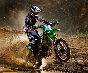 green, moto, and ride image