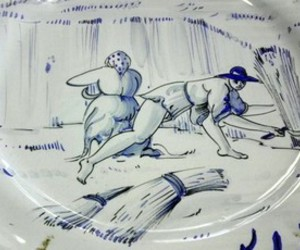 art, decor, and plate image