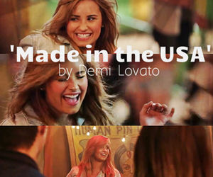 demi lovato, demi, and made in the usa image