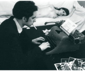 60s, bed, and retro image