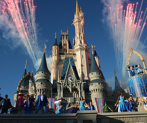 disney, photography, and castle image