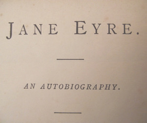 book, jane eyre, and charlotte bronte image
