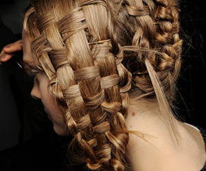 hair and Alexander McQueen image
