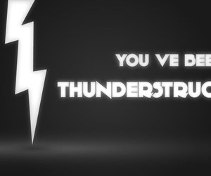 ac dc and thunderstruck image