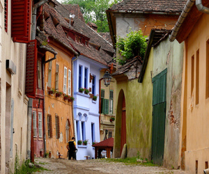 architecture, colours, and europe image