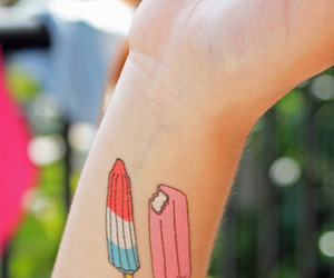 tattoo and ice cream image